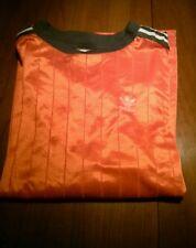 Vintage ADIDAS SOCCER JERSEY retro 80s shirt trefoil indie jacket futbol old
