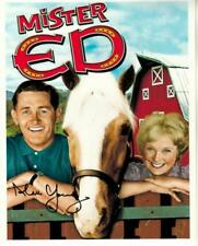 Book Signed With Photo Coa Mint Condition 100% Guarantee Alan Young Mister Ed And Me And More Television