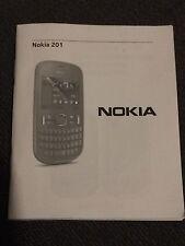 Nokia 201 Mobile Phone UK Manual - Quick Guide