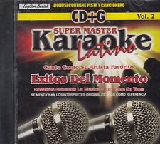 Juanes David Bisbal Melody Thalia Kabbah Exitos Del Momento Karaoke New SEALED