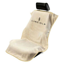 Seat Armour Front Car Seat Cover For Lincoln - Tan Terry Cloth