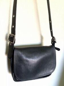 VINTAGE COACH PATRICIA'S LEGACY Crossbody Black Leather 9951