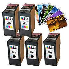 LD Remanufactured Lexmark 34/35 5PK: 3 18C0034/2 18C0035 + FREE PHOTO PAPER