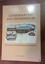 Lithokarten aus Österreich  Gratisversand A