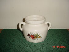 """VINTAGE McCOY """"BEAN POT OR COOKIE JAR"""" SPICE OF LIFE/#341/MADE IN USA/CLEARANCE!"""