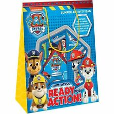 Official Paw Patrol Bumper Activity Bag **Includes 5 Sticker Activity Packs**
