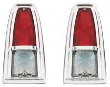 66-67 Nova Tail Light Lamp Lens & Back Up Assemblies Left & Right Trim Parts USA