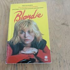 More details for 1980 blondie debbie harry paperback book 134 pages