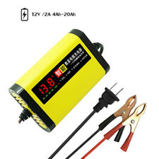 Car Motorcycle Battery Charger 12V 2A Full Automatic 3 Stages Lead Acid AGM V3V3