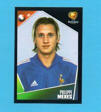PANINI-EURO 2004-Figurina n.102-MEXES-FRANCIA-NEW BLACK