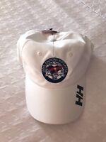Helly Hansen sailing regatta hat cap white NYYC yacht club  NEW white