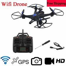 X183 Wifi Drone With 2MP HD Camera GPS Brushless 6-Axles RC Quadcopter Device TT