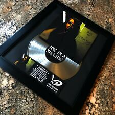 Aaliyah One In A Million Record Sales Music Award Lp Vinyl