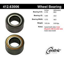 Wheel Bearing-Premium Bearings Front Centric 412.63006