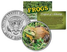 AMERICAN BULLFROG Frog Collection JFK Kennedy Half Dollar US Coin