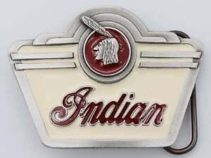 Indian Motorcycle Vintage Belt Buckle