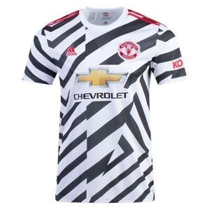 Adidas Manchester United 3rd Soccer/Football Jersey 20/21 Sz Large Mens FM4263