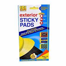 80 Almohadillas Adhesivas exterior Pegajoso Espuma Ultra Fuerte fuera de doble cara