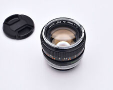 Canon Lens FD 50mm f/1.4 Prime with Caps (#6086)