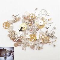 100PCS Fashion Nail Art Sticker Decal 3D Gear Design Manicure Tips Decor Tool