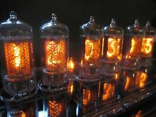 PV Electronics QTC Nixie clock With German Z5700 tubes +Plexi Case +PSU  (3of4)