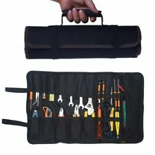 600D Oxford Roll Up Pouch Wrench Socket Hand Tool Bag Slot Organizer 22 Pockets