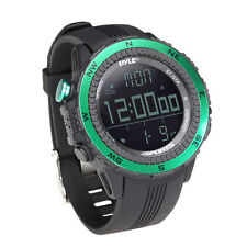 New Pyle Pswwm82Gn Digital Sport Watch W/ Altimeter Barometer & Weather Forecast