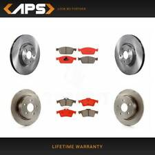 Front Disc Rotors /& Semi-Metallic Brake Pad Kit For Ford Escape Transit Connect