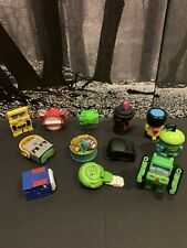Transformers BOTBOTS Hasbro Mini Figure Lot of 12 Spaypaint VR Goggles Drums