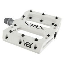 "ORIGIN8 PEDALS Vex Platform 9/16""  Sealed BMX MTB WHITE PAIR"