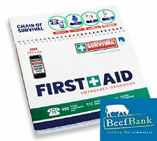 First Aid Kit (Emergency Handbook) Charity Fundraising for BeefBank