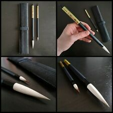 Traditional Japanese calligraphy brush set - FROM JAPAN
