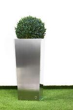 Pflanzkübel Pflanztopf  Blumenkübel Blumentopf Edelstahl Höhe 95 cm