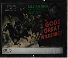 God's Great Wilderness 1927 Vintage Glass Slide (No Frame) Lillian Rich