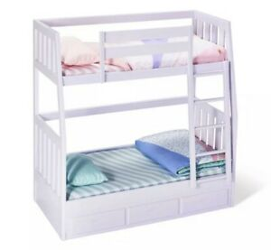 """Our Generation Bunk Beds for 18"""" Dolls Lilac Dream Bunks  New & Open/Damaged Box"""
