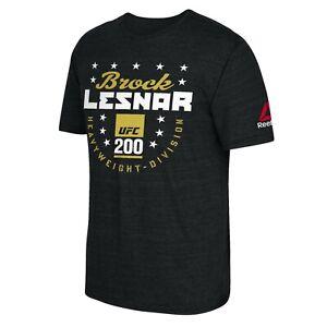 Brock Lesnar Reebok UFC Black UFC 200 Heavyweight Division Tri-Blend T-Shirt