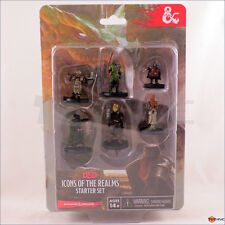 D&D Dungeons & Dragons: Icons of the Realms: Starter Set miniatures by Wizkids
