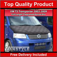 VW T5 TRANSPORTER 03-09 FULL LENGTH BONNET STONE SHIP GUARD PROTECTION BRA COVER