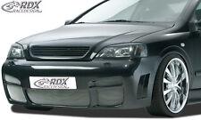 RDX Stoßstange Opel Astra G auch Coupe Cabrio Front Schürze Vorne Spoiler 011