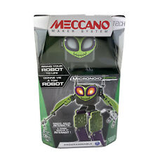 Meccano Tech Micronoid Switch Robot Building Kit 16405 Green Programmable STEM