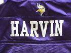 Minnesota Vikings 12 Percy Harvin Football Jersey Purple Boys Small 8 NFL Reebok