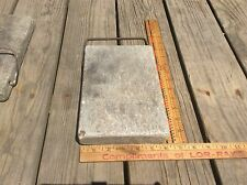 Farm Country Soap Stone , Bed / Buggy Foot Warmer, Honing Stone , Wire Handle