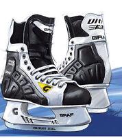 GRAF Ultra F30 Eishockey Schlittschuhe Hockey Skates Junior Größe 34 EU