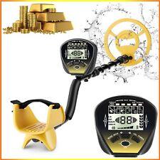 "Coocheer 10"" Deep Metal Detector Waterproof Gold Finder Lcd Shovel Search Coil"