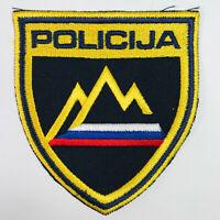 Slovenia Police Europe Policija Patch (B)