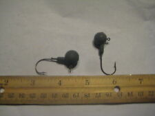 Unfinished Unpainted Round Jig Head (24)pack 1/2oz Bass Striper Size 1/0