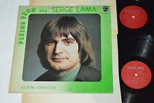 SERGE LAMA Pleins Feux Sur... 2-LP Philips Canada 6621.015 VG+/VG+/VG+ Pop Hits