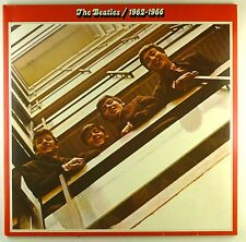 """2x 12"""" LP - The Beatles - 1962-1966 - A4556 - washed & cleaned"""