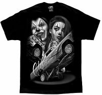 Straight Clowning Payasa Lowrider Chola David Gonzales DGA Homies Art T Shirt
