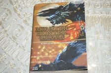 Monster Hunter Portable 3rd PSP Game Guide Huge 1000 Page Book MINT